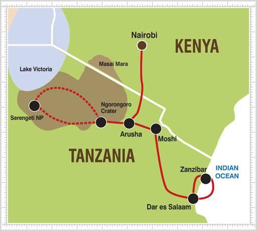 Malaria Kenia Karte.Serengeti Karten Kenia Maps Tansania Safaris Ostafrika Touren