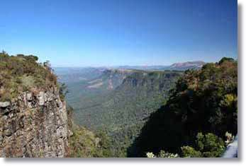 Panorama Tours Blyde River Canyon Godss Window at the Kruger National Park