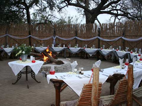 Boma Dinner under the stars accommodation