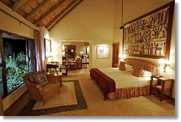 Zimmer mieten Lodges Vermietung Mala Mala Game Reserve Südafrika