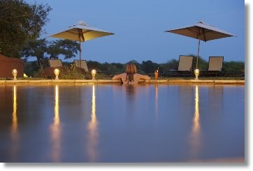 Uebernachtung in Malamala Reservat Sables Camp Naturschutzreservat Kruger