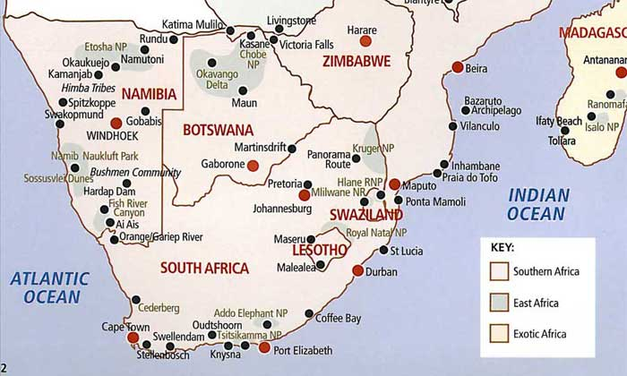 Kruger National Park  South Africa Safari Guide  Information