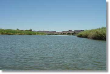 Afrika Touren - Orange River - Bootstouren