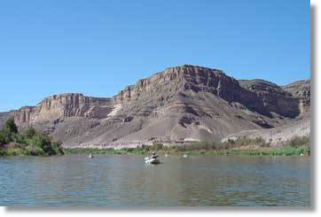 Orange River South Africa Canoe Tour