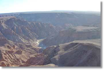 Namibia Fish River Canyon Südafrika Rundreisen und Safaris Afrika Tours