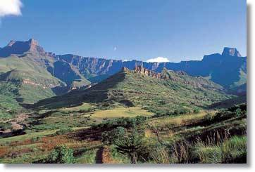 Royal Nationalpark und Drakensberge in Südafrika Rundreisen und Safaris Wandersafaris
