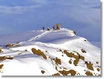 Klimandscharo Bergbesteigung Tansania Camping Safaris Afrika Tours Ostafrika Wandersafaris Kilimanjaro